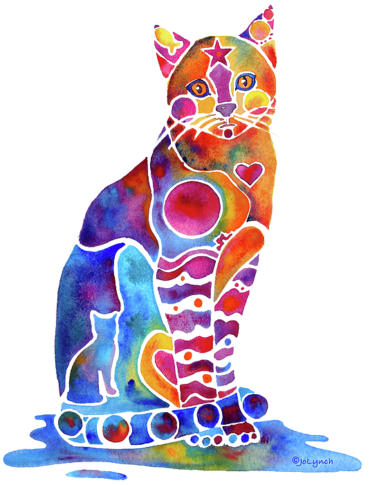 Carley Cat by Jo Lynch